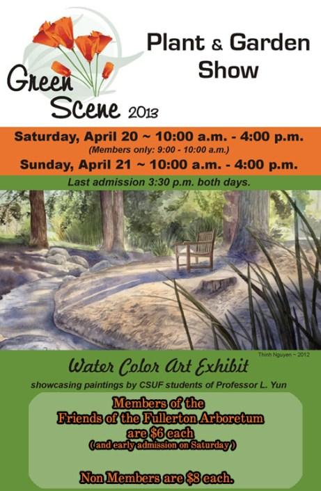 Green Scene Flyer