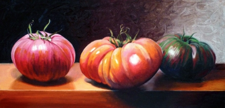 Heirloom Tomatoes by Micah A. Wilson